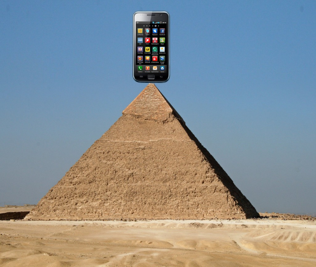 Handy Pyramide